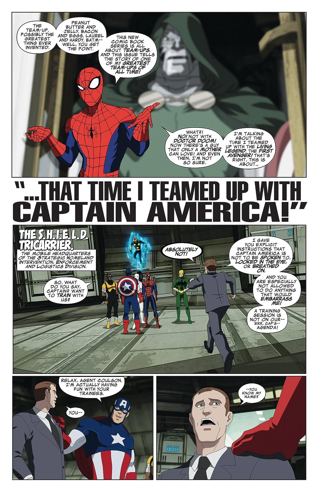 Marvel Universe Ultimate Spider-Man: Web Warriors (2014-2015) #1
