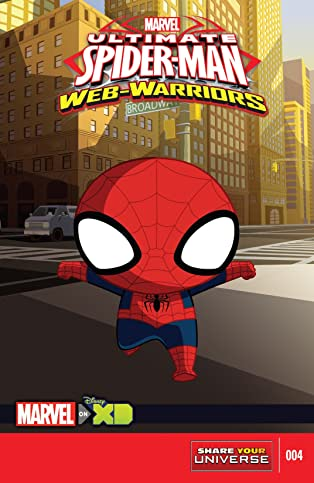 Marvel Universe Ultimate Spider-Man: Web Warriors (2014-2015) #4