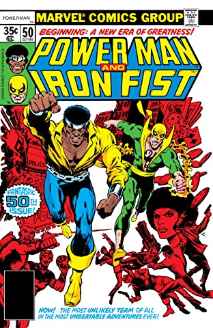 Power Man and Iron Fist (1978-1986) No.50