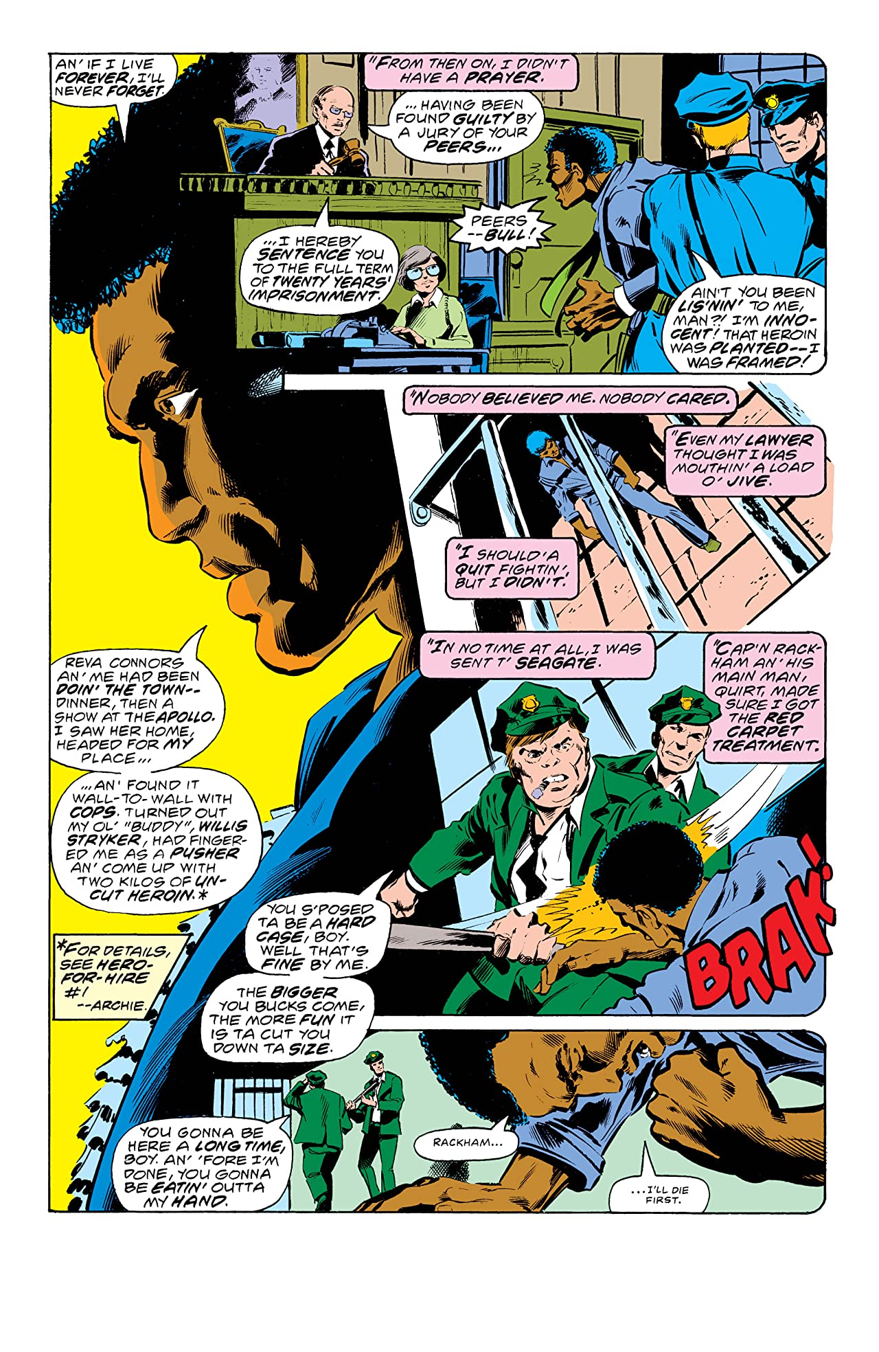 Power Man and Iron Fist (1978-1986) #50