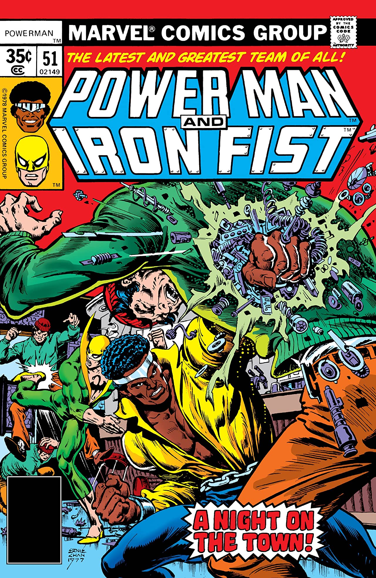 Power Man and Iron Fist (1978-1986) #51
