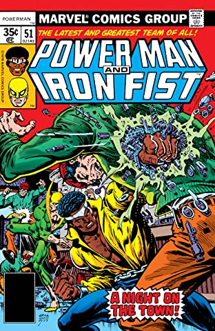 Power Man and Iron Fist (1978-1986) No.51