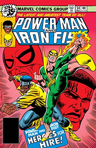 Power Man and Iron Fist (1978-1986) No.54