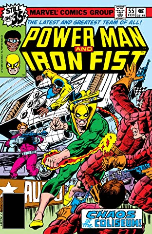 Power Man and Iron Fist (1978-1986) No.55