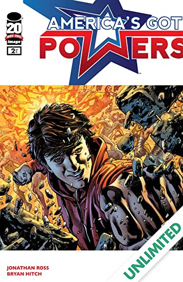America's Got Powers #2 (of 7)