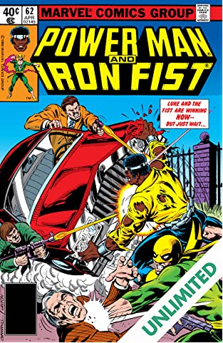 Power Man and Iron Fist (1978-1986) #62