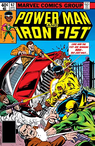 Power Man and Iron Fist (1978-1986) No.62