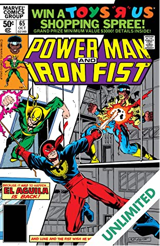 Power Man and Iron Fist (1978-1986) #65