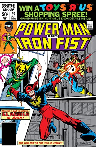 Power Man and Iron Fist (1978-1986) No.65