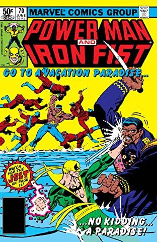 Power Man and Iron Fist (1978-1986) No.70