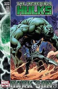 Incredible Hulks (2009-2011) #616