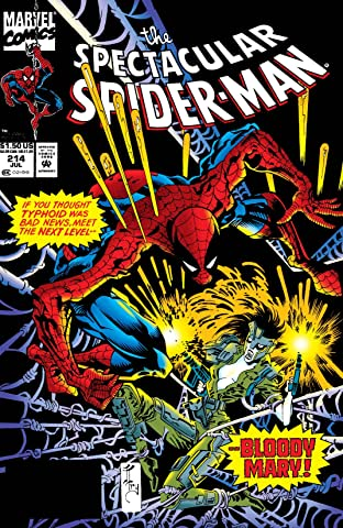 Peter Parker, The Spectacular Spider-Man (1976-1998) #214