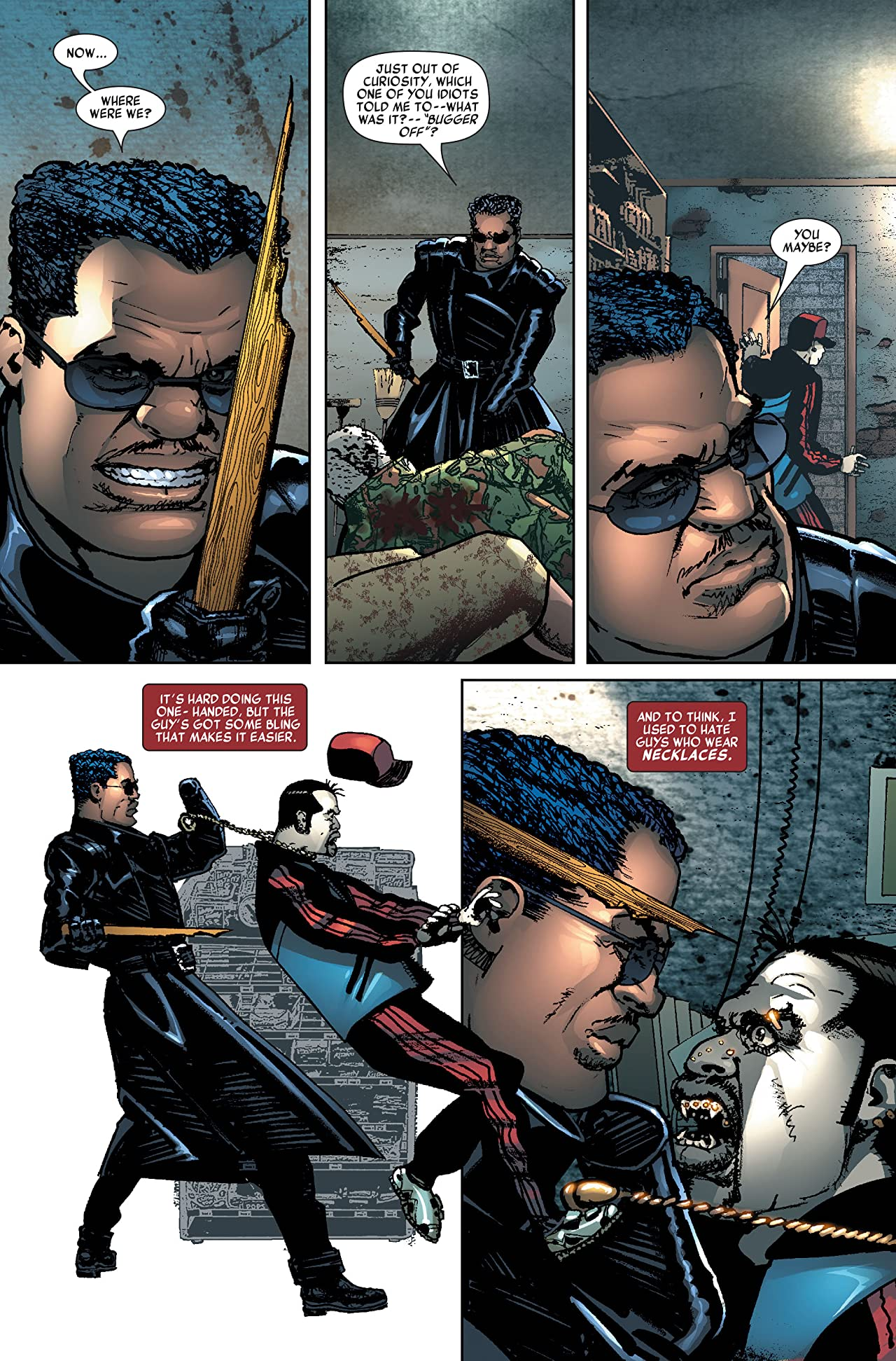 Blade Vol. 2: Sins of the Father