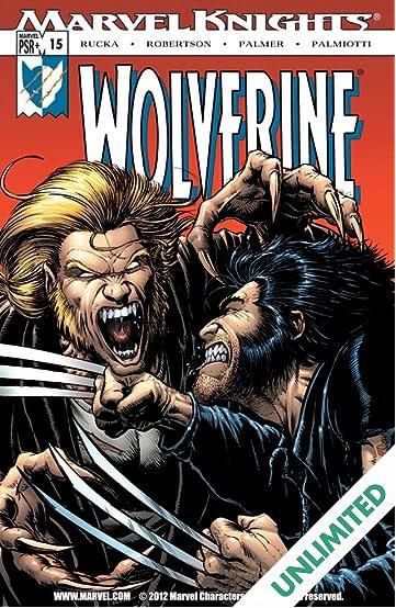 Wolverine (2003-2009) #15