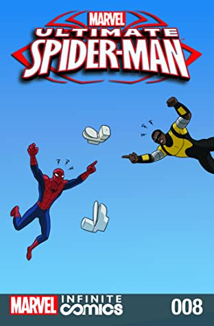 Ultimate Spider-Man Infinite Comic No.8