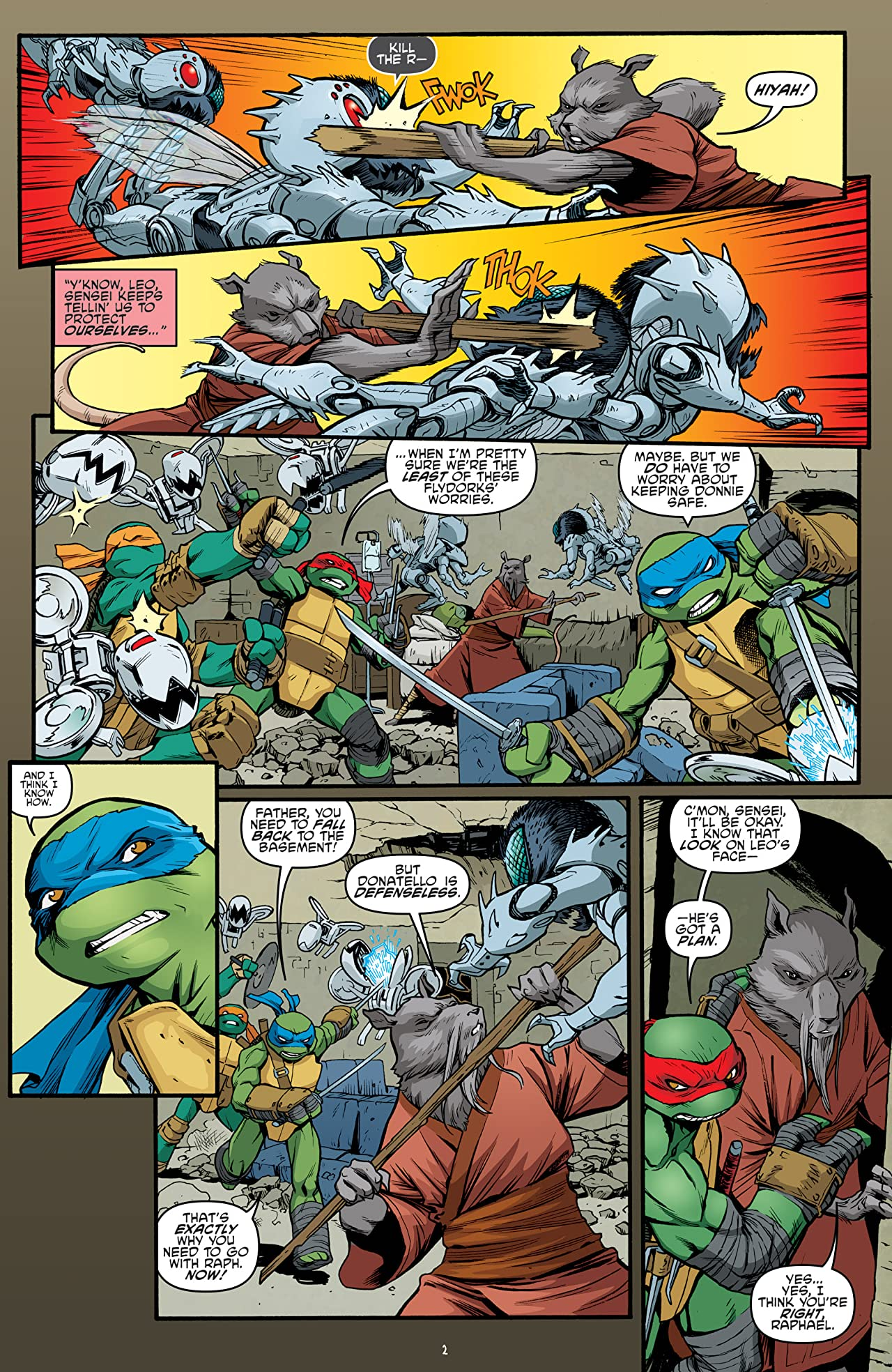 Teenage Mutant Ninja Turtles #48