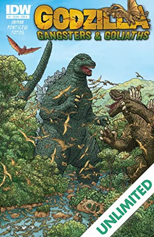 Godzilla: Gangsters and Goliaths #1 (of 5)