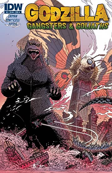 Godzilla: Gangsters and Goliaths #2 (of 5)