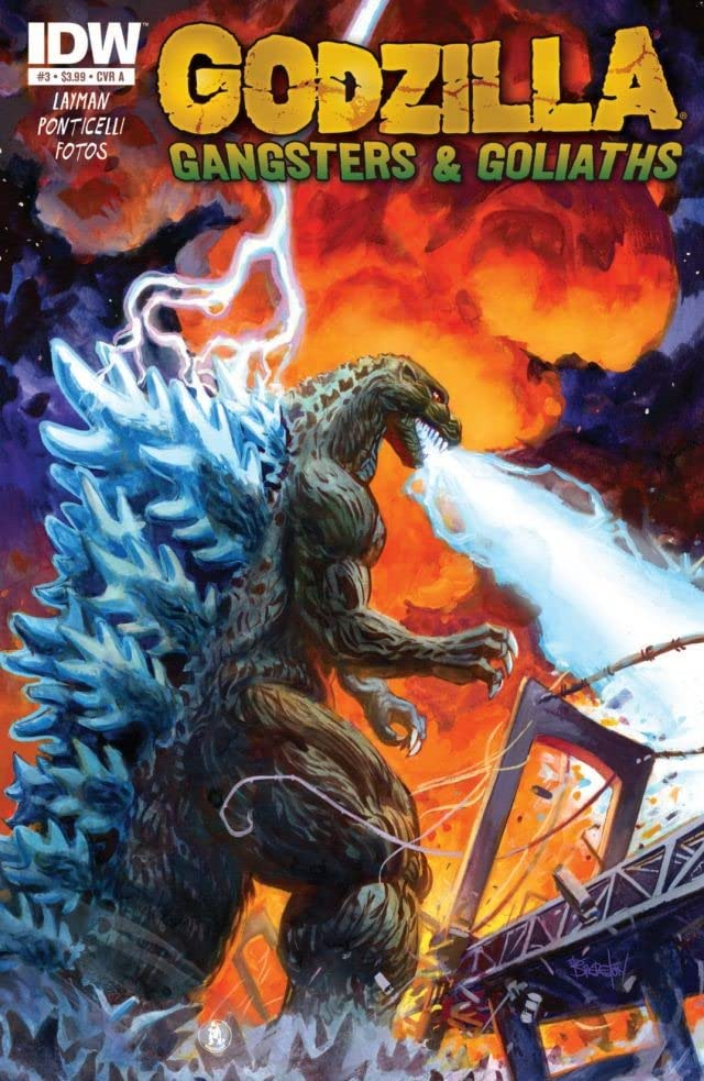 Godzilla: Gangsters and Goliaths #3 (of 5)