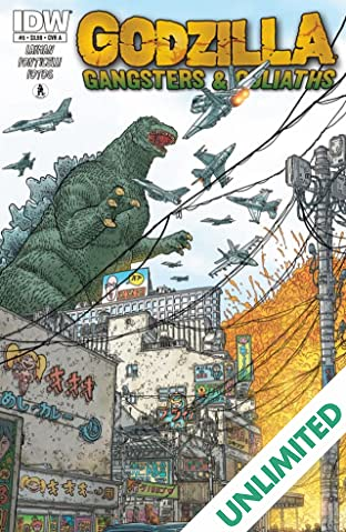 Godzilla: Gangsters and Goliaths #5 (of 5)