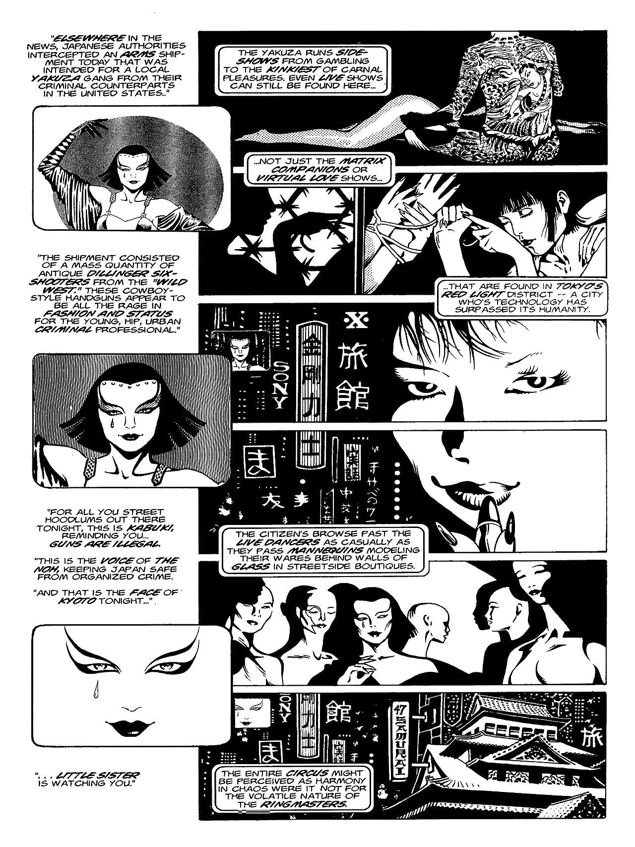 Kabuki Library Vol. 1