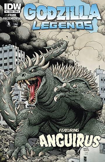 Godzilla Legends #1