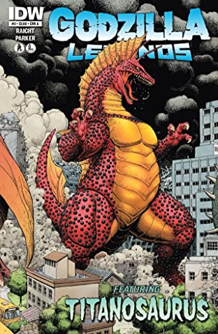 Godzilla Legends #3 (of 5)