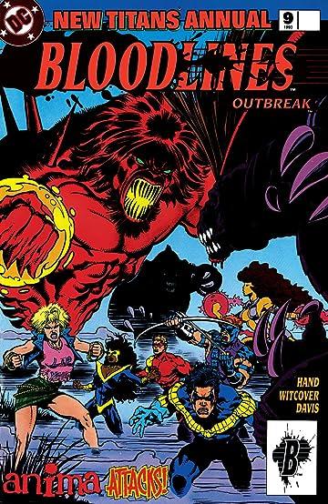 The New Titans (1984-1996): Annual #9
