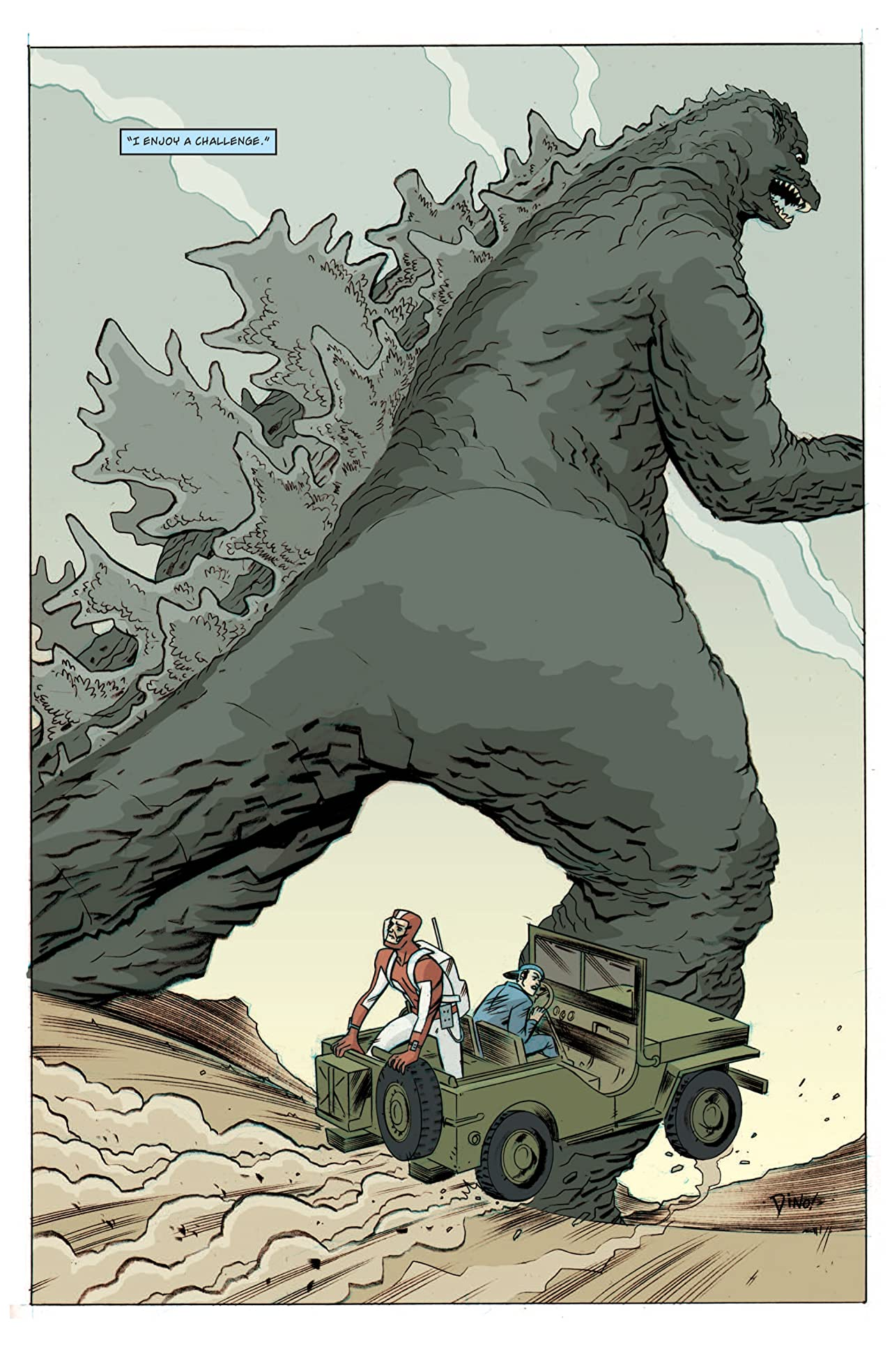 Godzilla Legends #5 (of 5)