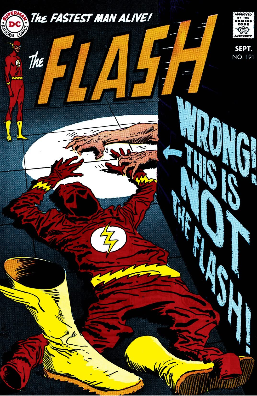 The Flash (1959-1985) #191