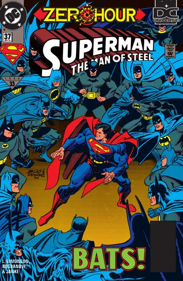 Superman: The Man of Steel (1991-2003) #37
