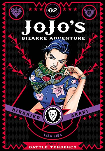 JoJo's Bizarre Adventure: Part 2--Battle Tendency Vol. 2