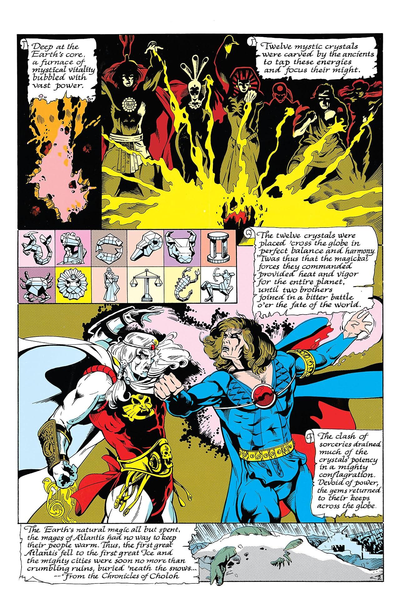 Aquaman (1986) #1 (of 4)