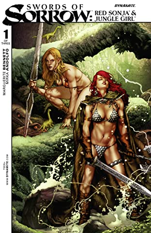 Swords of Sorrow: Red Sonja & Jungle Girl No.1 (sur 3)