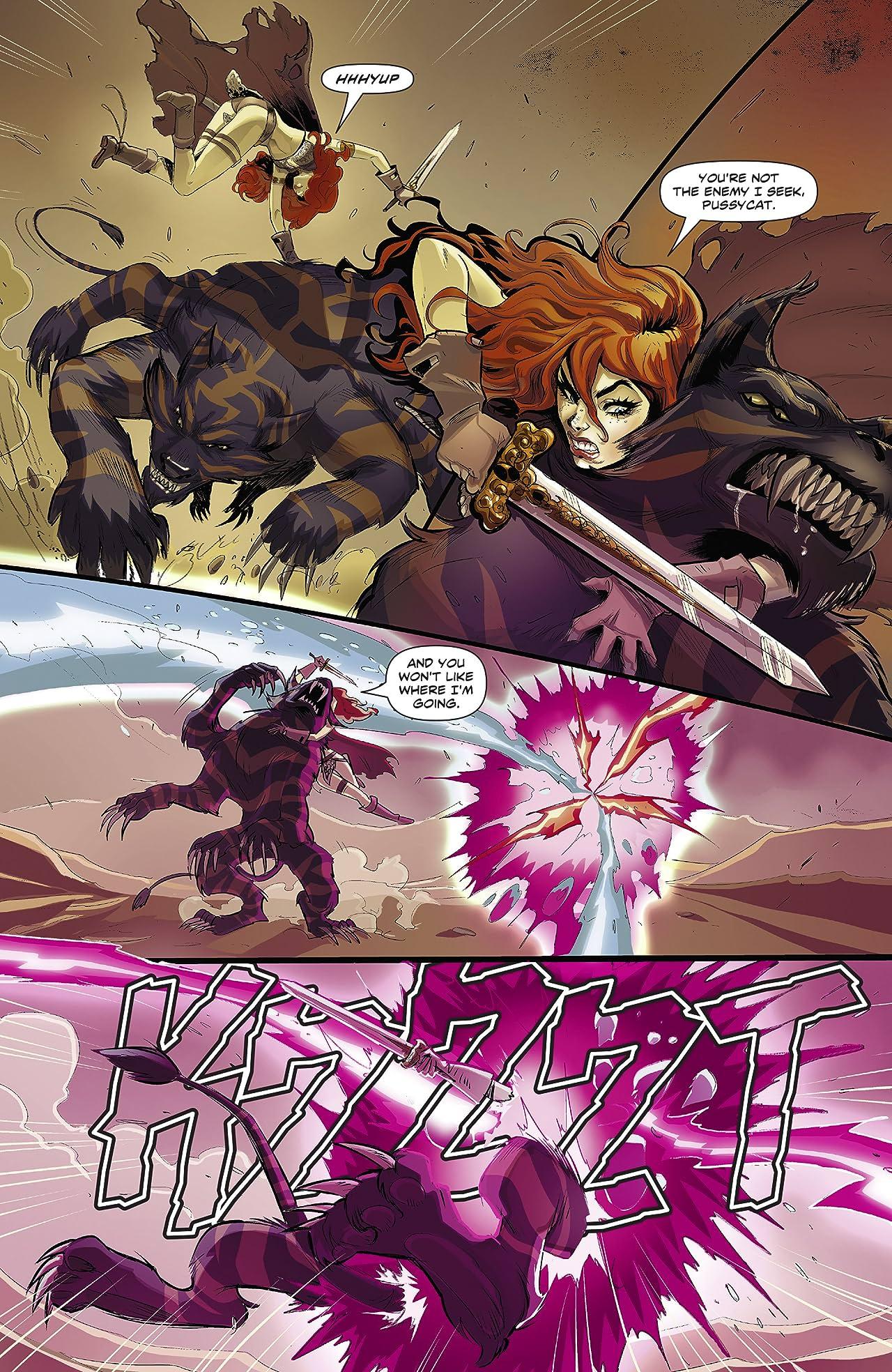 Swords of Sorrow: Red Sonja & Jungle Girl #1 (of 3)