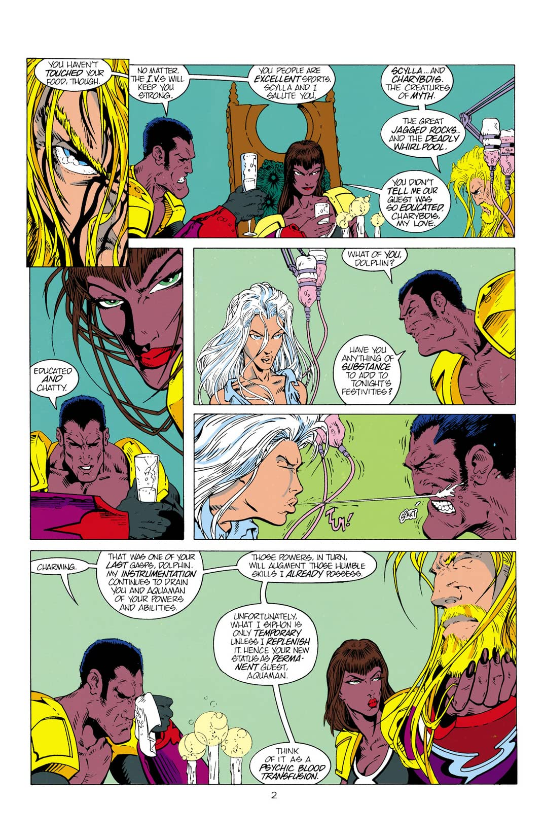 Aquaman (1994-2001) #2