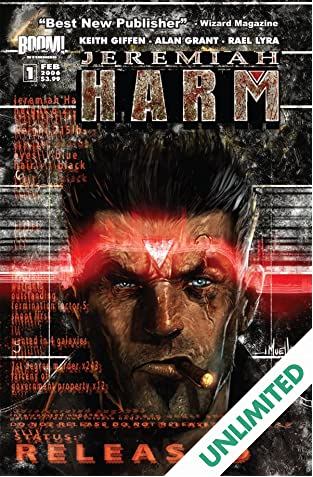 Jeremiah Harm #1 (of 5)