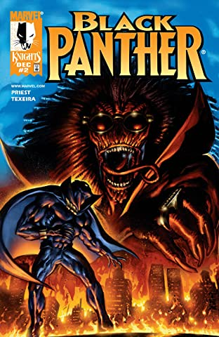 Black Panther (1998-2003) No.2
