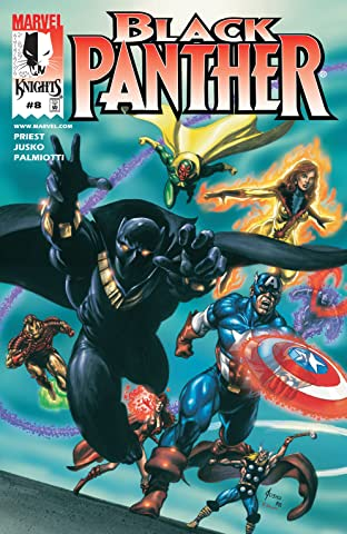 Black Panther (1998-2003) No.8