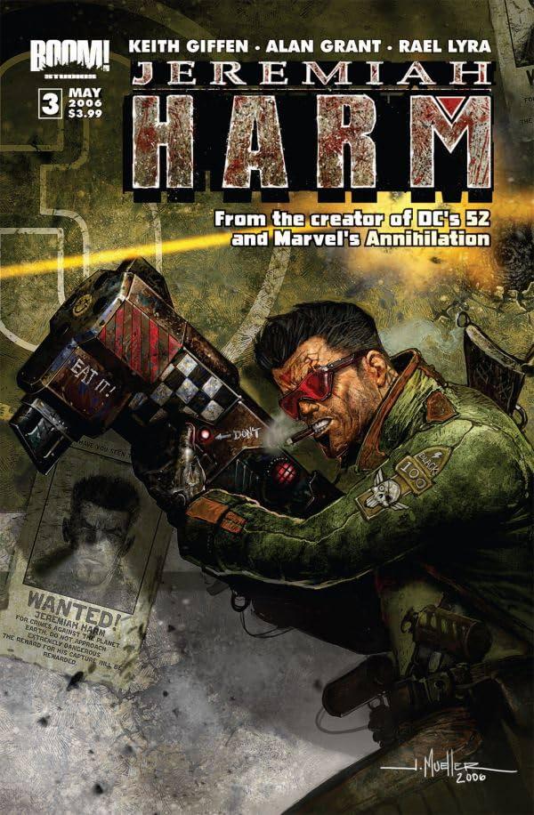 Jeremiah Harm #3 (of 5)