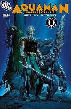Aquaman: Sword of Atlantis (2006-2007) #40