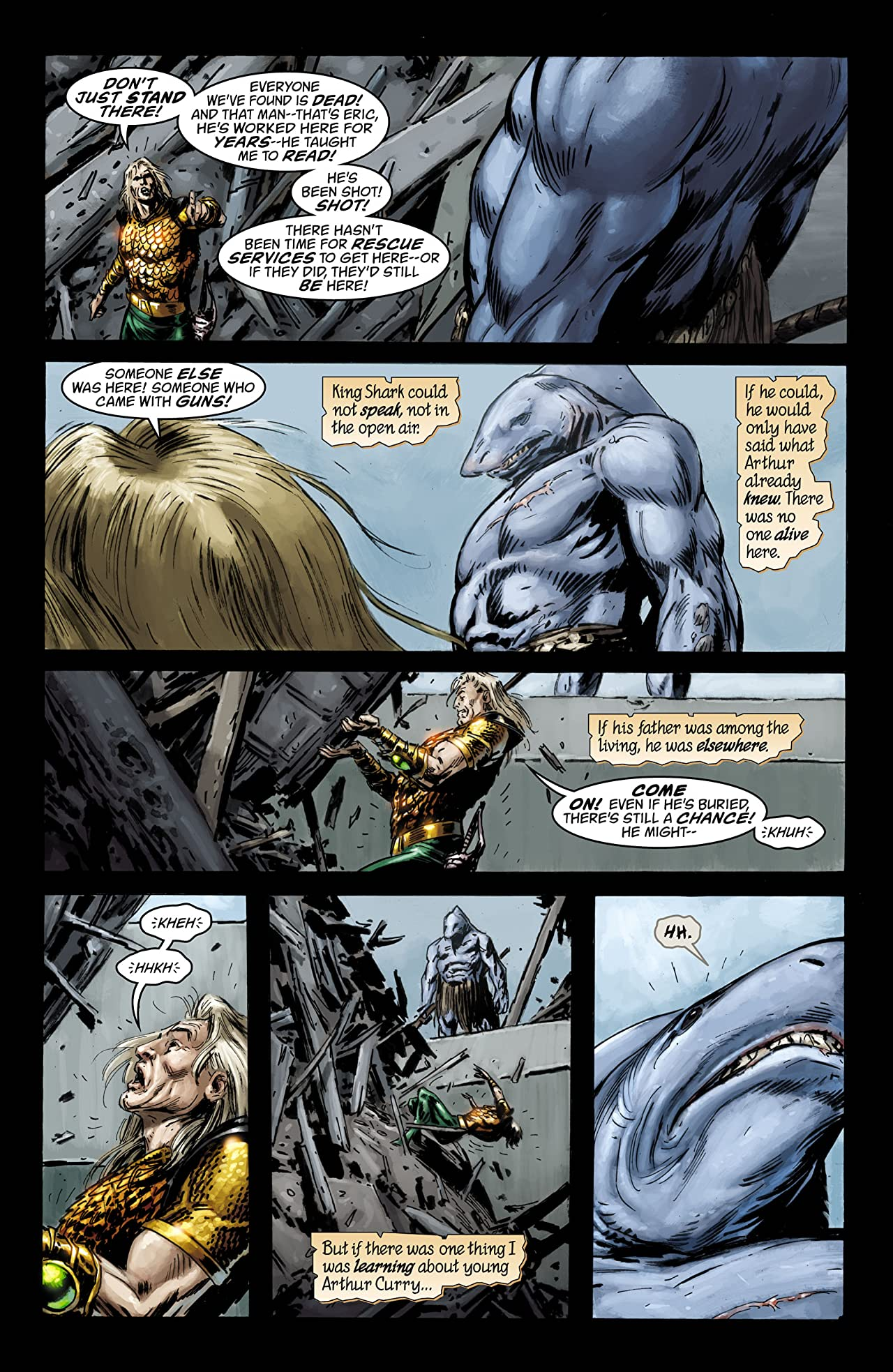 Aquaman: Sword of Atlantis (2006-2007) #41