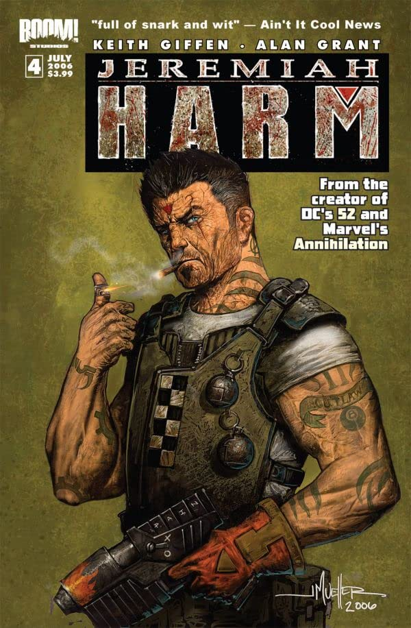 Jeremiah Harm #4 (of 5)