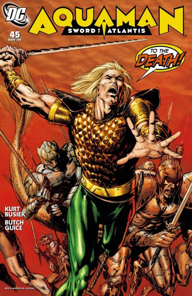 Aquaman: Sword of Atlantis (2006-2007) #45