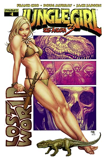 Jungle Girl: Season Three #4 (of 4): Digital Exclusive Edition
