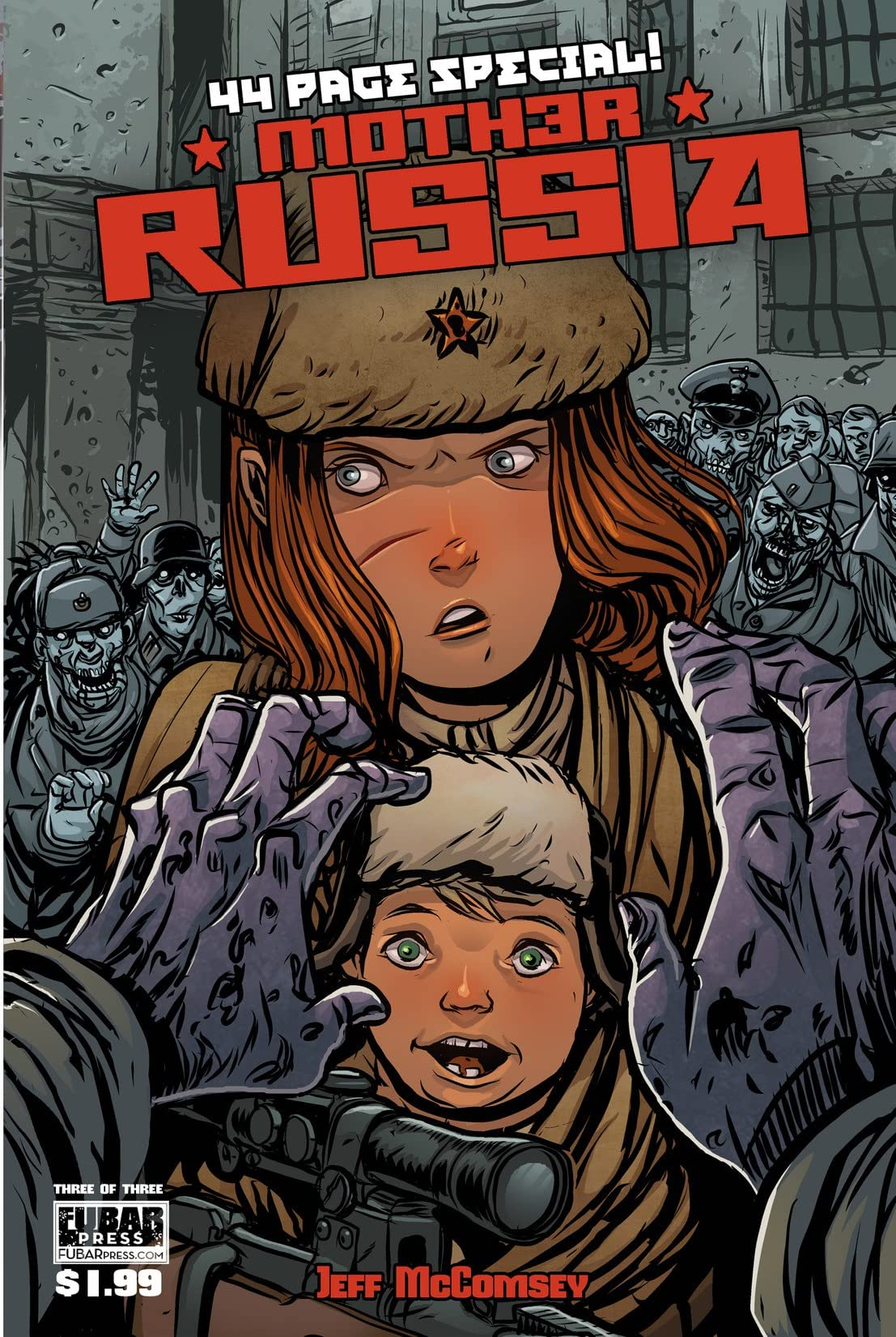 Mother Russia #3 (of 3)