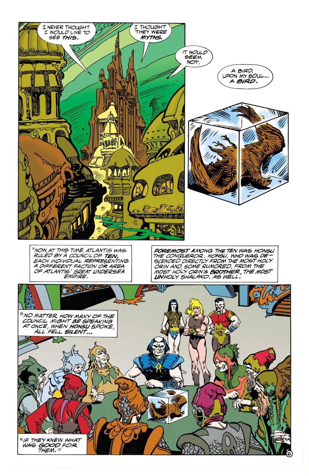 The Atlantis Chronicles #6 (of 7)
