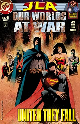 JLA: Our Worlds at War No.1