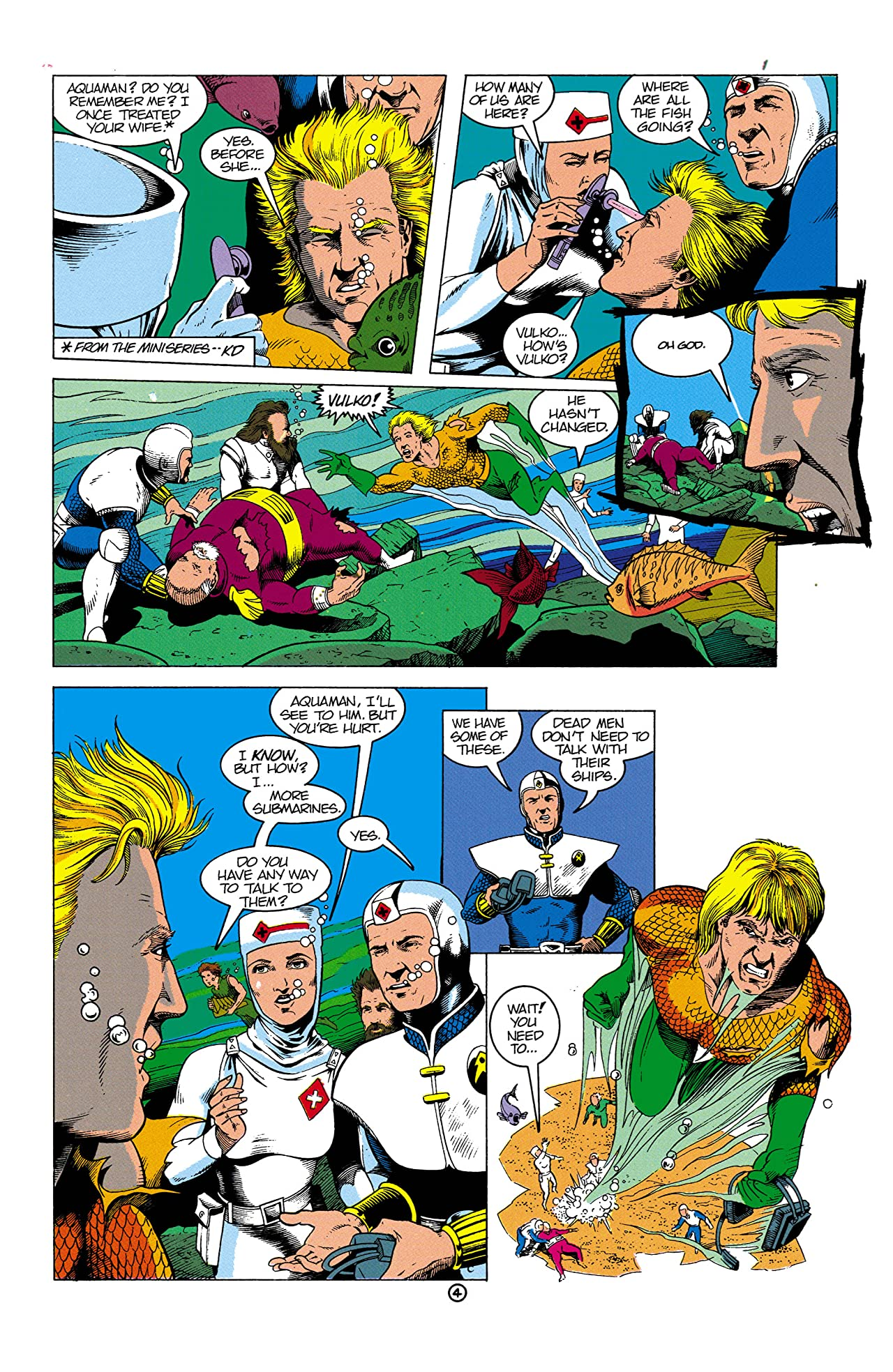 Aquaman (1991-1992) #2