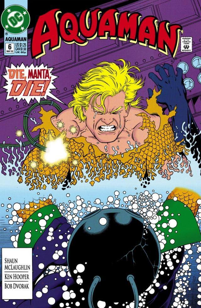 Aquaman (1991-1992) #6